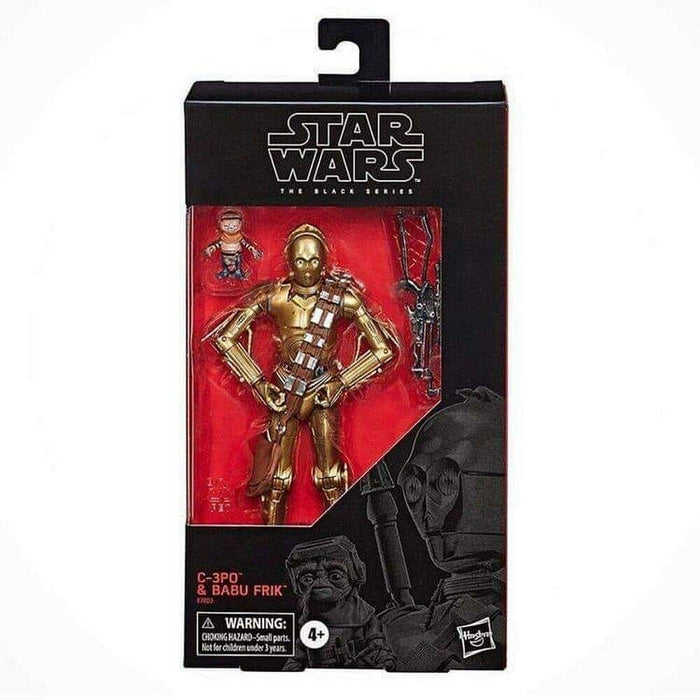 Star Wars The Rise of Skywalker Black Series - C-3PO & Babu Frick Action Figure - Characters Co