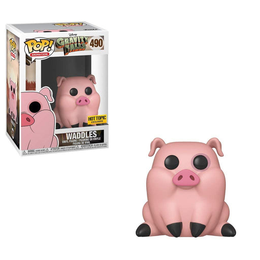 Funko Pop! Animation Gravity Falls - Waddles Hot Topic Exclusive Vinyl Figure - Characters Co
