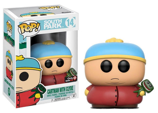 Funko Pop! South Park Cartman with Clyde Gamestop Exclusive Vinyl Figure - Characters Co