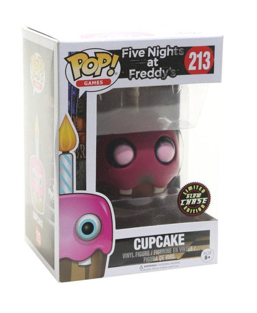 Funko Pop! Five Nights at Freddy's Cupcake Glow Chase Vinyl Figure - Characters Co