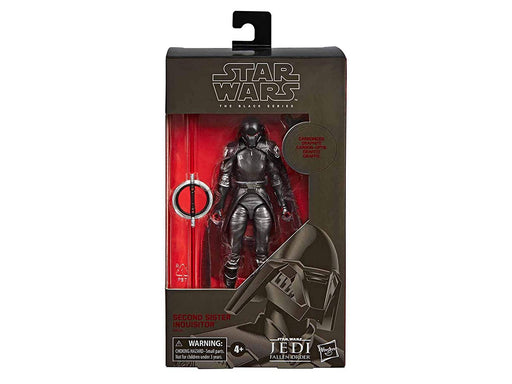 Star Wars Jedi Fallen Order - Black Series Carbonized Graphite Second Sister Inquisitor Gamestop Exclusive Action Figure - Characters Co
