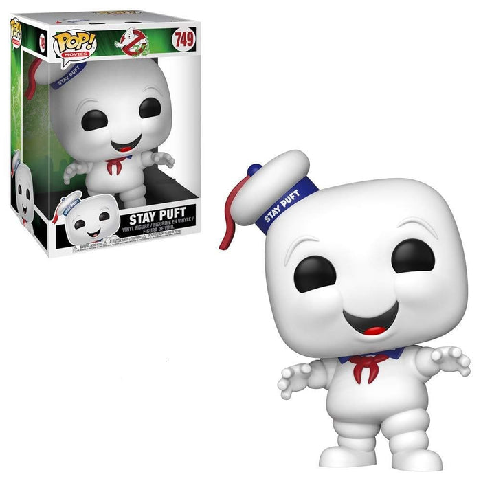 "10"" Stay Puft Ghostbusters Funko Pop! Gamestop Exclusive Vinyl Figure - Characters Co"