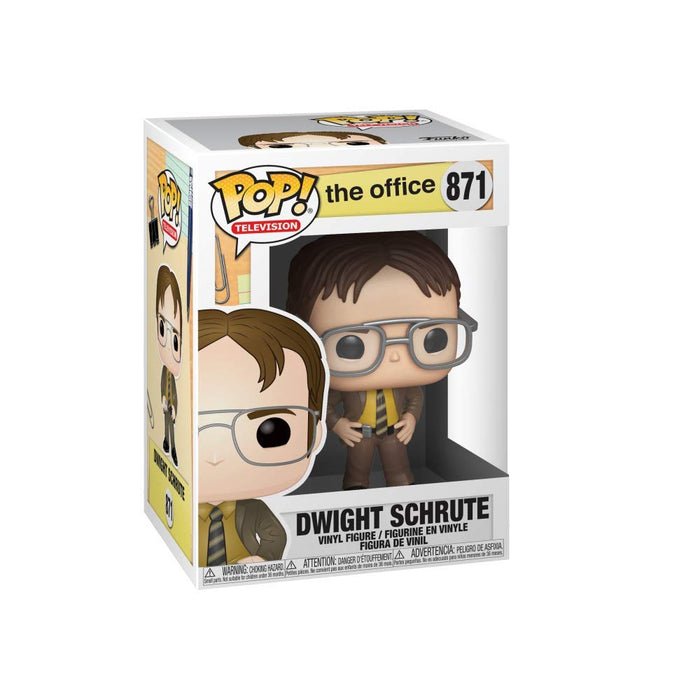 Funko Pop! The Office - Dwight Schrute Vinyl Figure - Characters Co