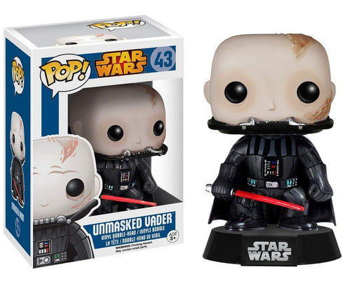 Funko Pop! Star Wars - Unmasked Darth Vader Vaulted Blue Box Vinyl Figure - Characters Co