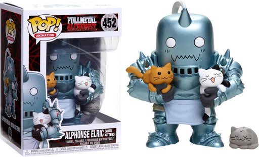 Funko Pop! Animation Full Metal Alchemist - Alphonse Elric (with Kittens) Hot Topic Exclusive Vinyl Figure - CharactersCo.com