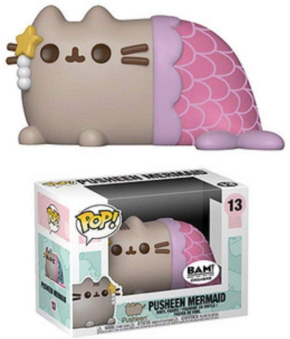 Funko Pop! Pusheen - Pusheen Mermaid BAM Exclusive Vinyl Figure - Characters Co