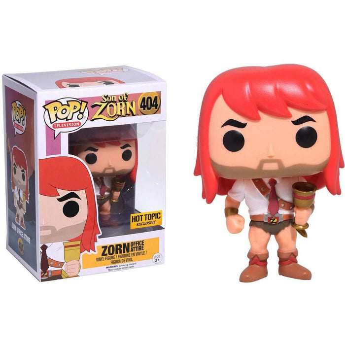 Funko Pop! Television Zorn - Office Attire (Hot Topic Exclusive) Vinyl Figure - Characters Co