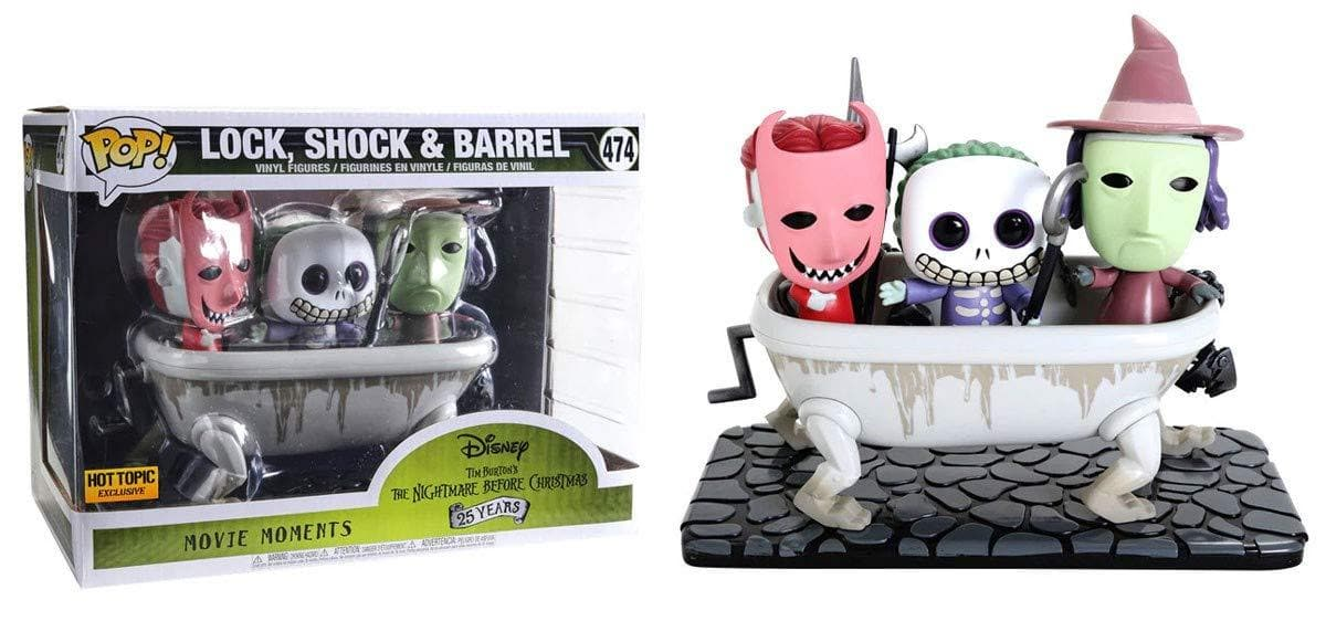 Lock,Shock & Barrel Funko Pop! Nightmare Before Christmas Exclusive Vinyl Figure - Characters Co