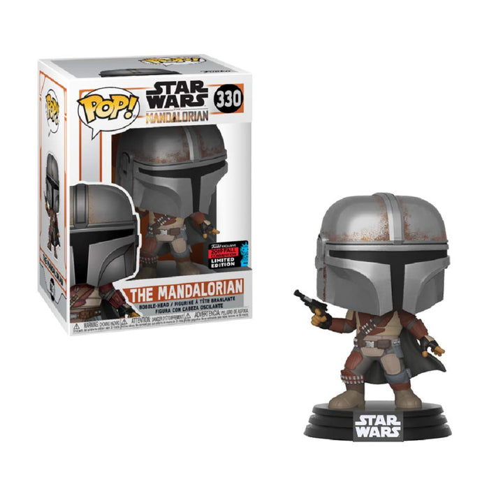Funko Pop! Star Wars  - The Mandalorian, 2019 NYCC Exclusive Shared Vinyl Figure - CharactersCo.com