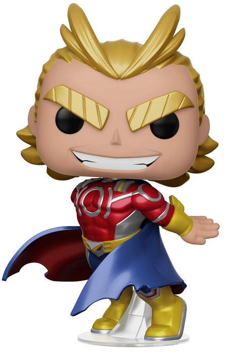 Funko Pop! My Hero Academia - All Might Metallic Barnes & Noble Exclusive Vinyl Figure - Characters Co