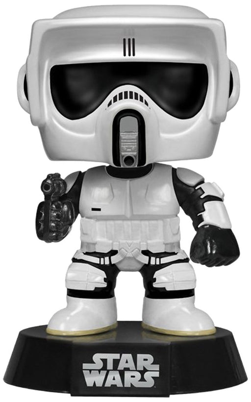 Funko POP Star Wars : Biker Scout Action Figure - Characters Co