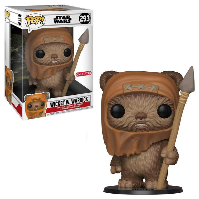 "10"" Wicket W. Warrick Funko Pop! Star Wars Target Exclusive Vinyl Figure - Characters Co"