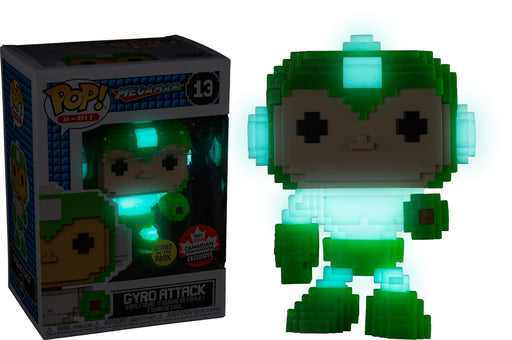 Funko Pop! 8-Bit Megaman Gyro Attack Canadian Convention Exclusive Vinyl Figure - Characters Co