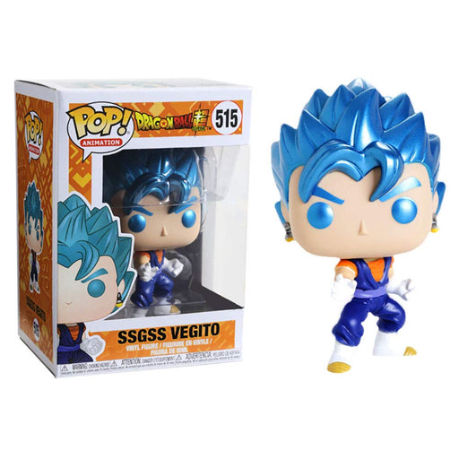 Funko POP! Animation: Dragonball Super - SSGSS Vegito Metallic Hot Topic Exclusive Vinyl Figure - Characters Co