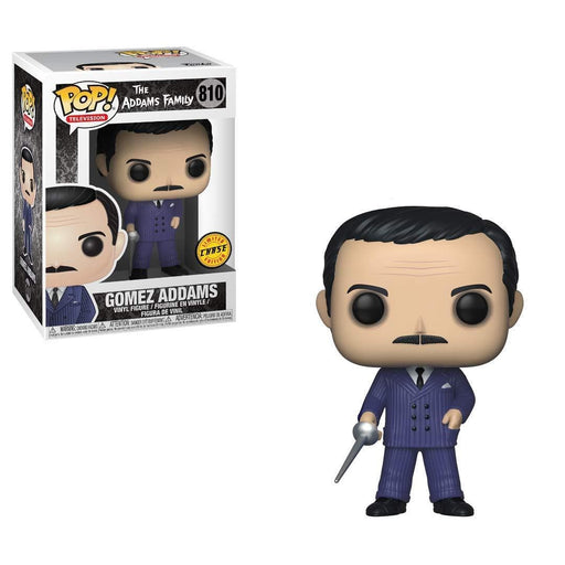 Funko Pop! Television -: The Addams Family - Gomez with Rapier Chase Vinyl Figure - Characters Co