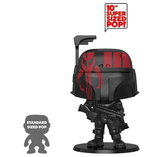 "10"" Boba Fett Futura Collection Funko Pop! Star Wars Funko POP Futura x Funko - 10 Boba Fett (Black) Exclusive - CharactersCo.com"