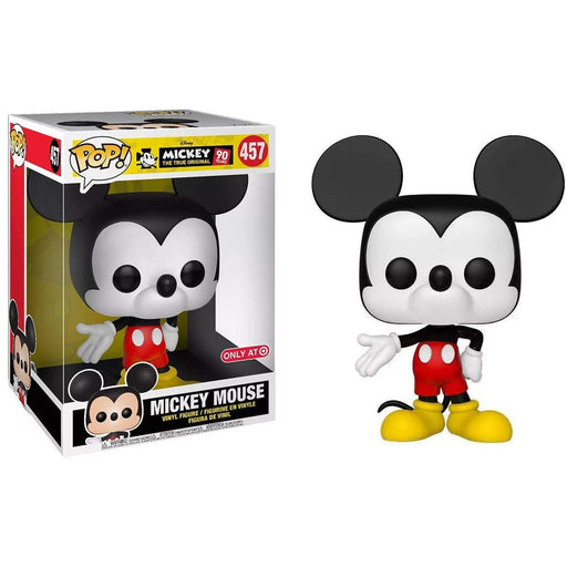 "10"" Mickey Mouse Funko Pop! Target Exclusive Vinyl Figure - CharactersCo.com"