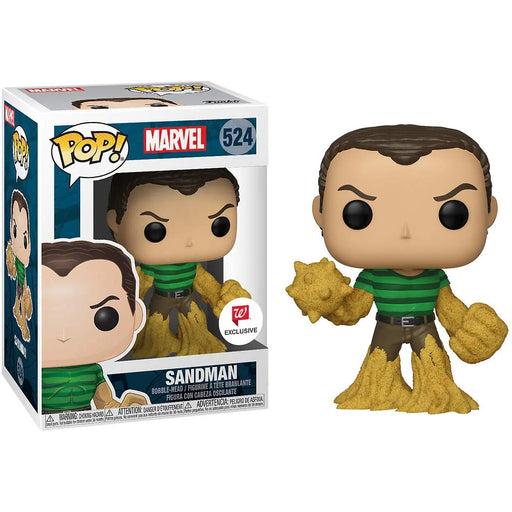 Funko Pop! Marvel Spider-Man, Sandman Walgreens Exclusive Vinyl Figure - CharactersCo.com