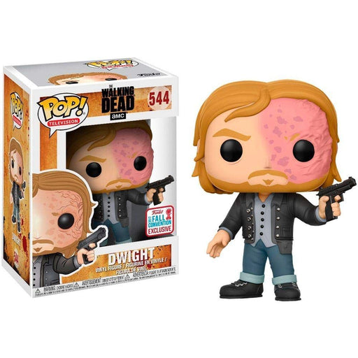 Funko Pop! Television The Walking Dead Dwight, 2017 NYCC Exclusive Shared Vinyl Figure - Characters Co