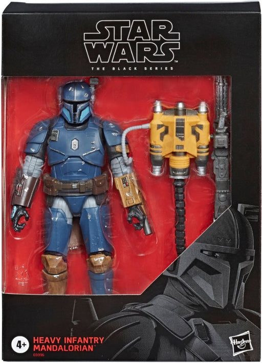 Star Wars The Mandalorian - Black Series Deluxe Heavy Infantry Mandalorian Exclusive Action Figure (Pre-Order July 2020) - Characters Co