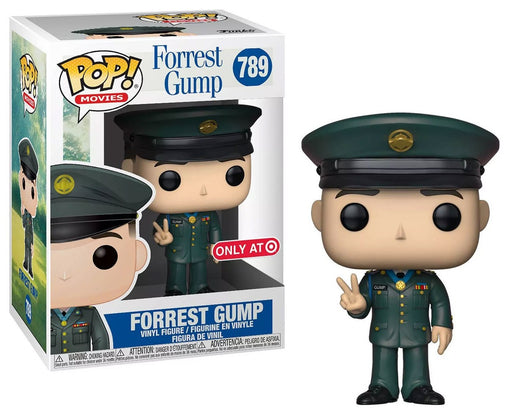 Funko Pop! Movies - Forrest Gump Army Uniform With Metal Vinyl Figure - Characters Co