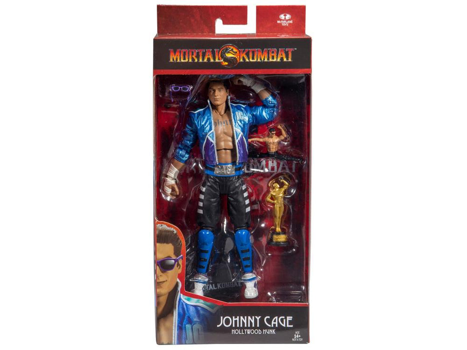 McFarlane Mortal Kombat Johnny Cage 7 Inch Collectible Action Figure - Characters Co