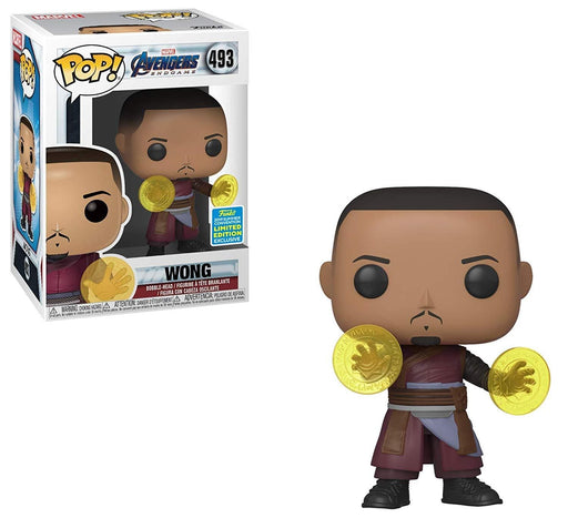 Wong Funko Pop! Marvel San Diego Comic Con Exclusive Shared Vinyl Figure - CharactersCo.com