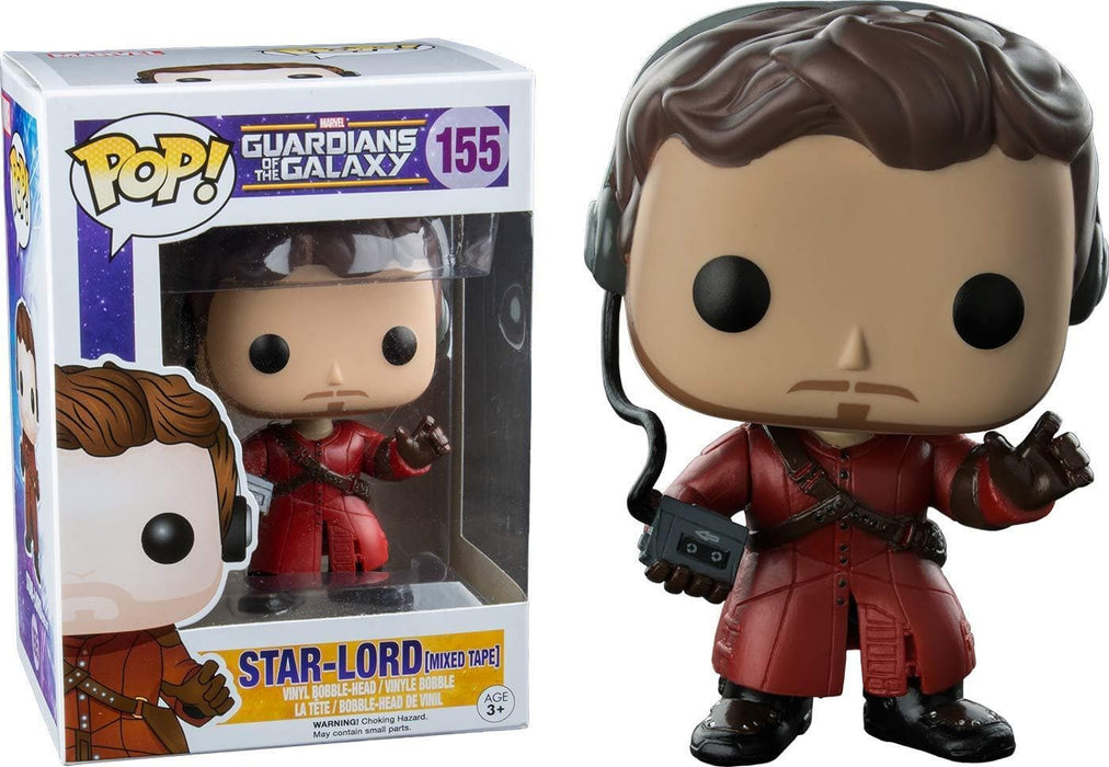 Funko Pop! Marvel Guardians of the Galaxy, Star Lord Mixed Tape Vinyl Figure - CharactersCo.com