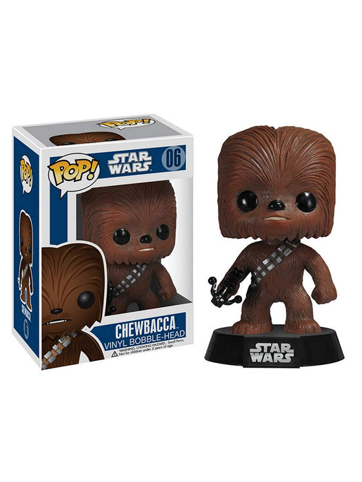 Funko Pop! Star Wars - Chewbacca Blue Box Vaulted Vinyl Figure - Characters Co