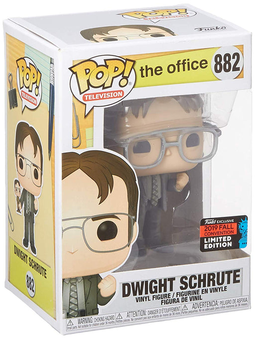 Funko Pop! The Office - Dwight Holding Dwight Figure 2019 NYCC Exclusive Shared Vinyl Figure - Characters Co
