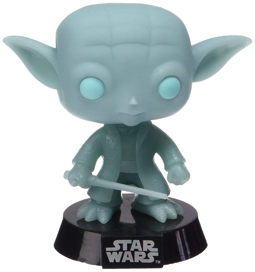 Funko Pop! Star Wars - Spirit Yoda Glow in the Dark Walgreens Exclusive Vinyl Figure - CharactersCo.com