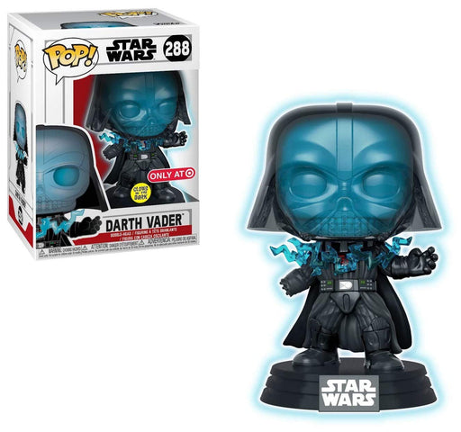 Darth Vader Electrocuted Glow in the Dark Funko Pop! Star Wars Target Exclusive Vinyl Figure - CharactersCo.com