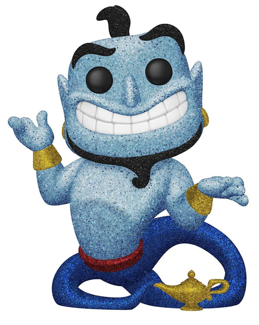 Funko Pop Movies Aladdin - Diamond Collection Genie with Lamp Hot Topic Exclusive Vinyl Figure - Characters Co