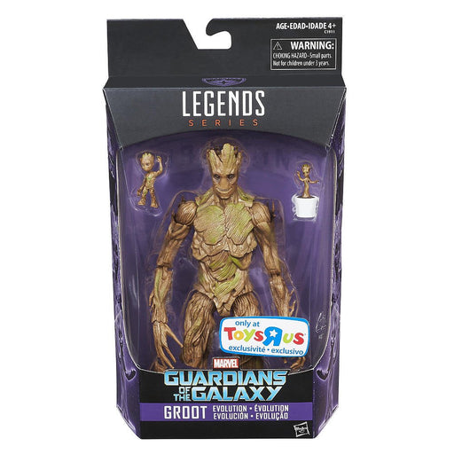 Marvel Legends Guardians of the Galaxy Evolution of Groot Toys R Us Exclusive Action Figure - Characters Co