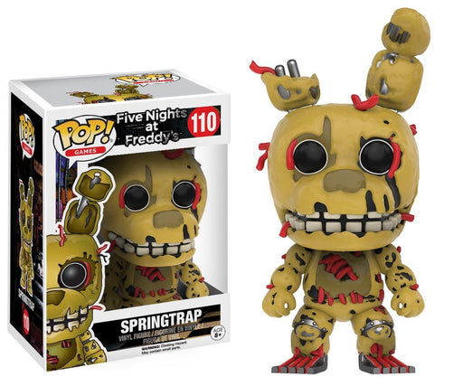Funko Five Nights at Freddy's - Spring Trap Toy Figure - Characters Co