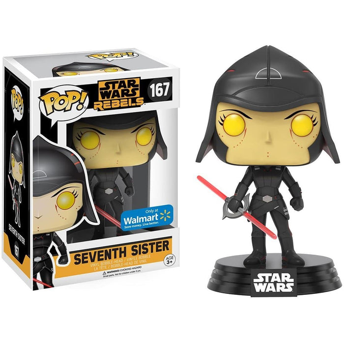 Funko Pop! Star Wars Seventh Sister (Walmart Exclusive) Vinyl Figure - Characters Co