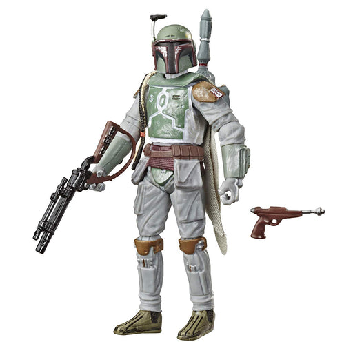 "Star Wars The Empire Strikes Back - Vintage Collection Boba Fett 3.75"" Scale Collectible Action Figure (PRE-ORDER September 2020) - Characters Co"