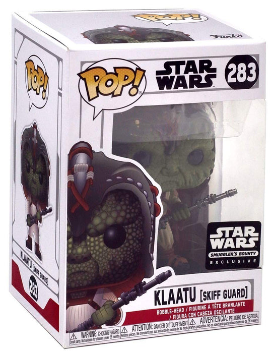 Funko Pop! Star Wars #283 Klaatu (Jabba Skiff Guard) Smugglers Bounty Exclusive Vinyl Figure - Characters Co