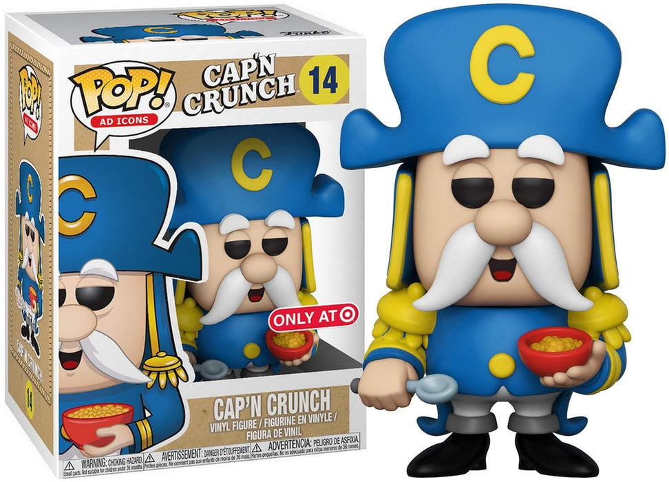 Funko Pop Ad Icons Cap'n Crunch (Target Exclusive) Vinyl Collectible Figure #14 - Characters Co
