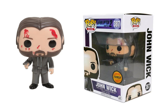 John Wick Funko Pop! Movies Bloody Chase Vinyl Figure - Characters Co