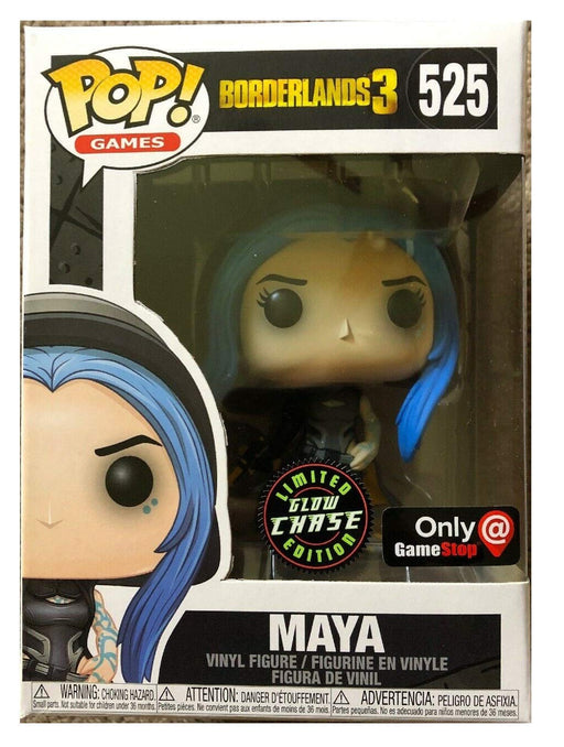 Funko Pop! Borderlands 3 - Maya Glow in The Dark Chase Gamestop Exclusive Vinyl Figure - Characters Co