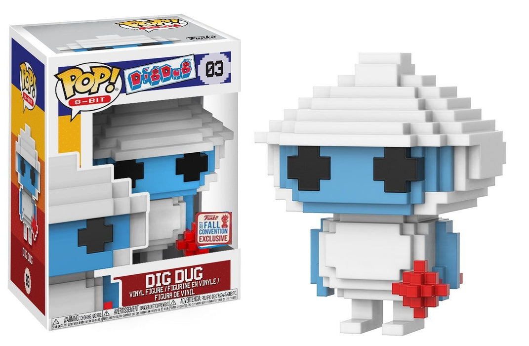 Funko Pop! Dig Dug 8-Bit, 2017 NYCC Exclusive Shared Vinyl Figure - Characters Co
