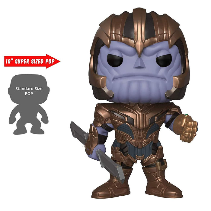 "10"" Thanos Endgame Funko Pop! Marvel Target Exclusive Vinyl Figure - CharactersCo.com"