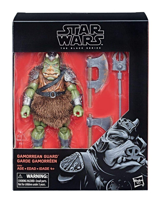 Star Wars Return of the Jedi - Gamorrean Guard Black Series Deluxe 6-Inch Scale Collectible Action Figure - Characters Co