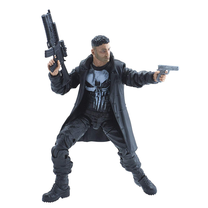 "Punisher Marvel Legends Knights Netflix Daredevil Man-Thing Series 6"" Action Figure - Characters Co"