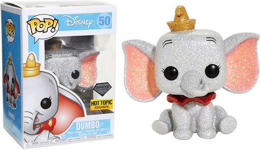 Funko Pop! Disney Dumbo Diamond Collection Hot Topic Exclusive Vinyl Figure - Characters Co