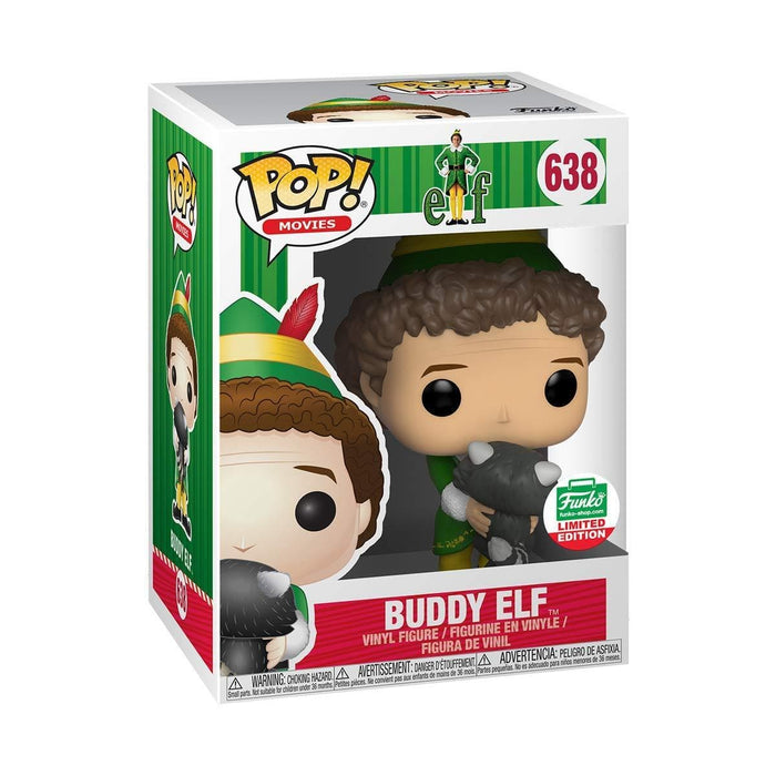 Funko POP! Movies: Elf - Buddy Elf [With Raccoon] #638 - Funko's [2018] 12 Days Of Christmas Exclusive - Characters Co