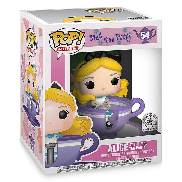 Funko Pop! Rides Disney Alice at The Mad Tea Party Disney Parks Exclusive Vinyl Figure - Characters Co