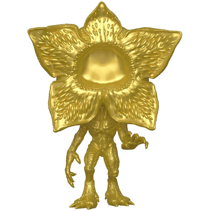 Funko Pop! Stranger Things Gold Demogorgon 2019 SDCC Exclusive Shared Vinyl Figure - Characters Co