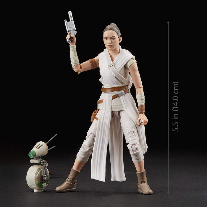 "Star Wars The Rise of Skywalker - Rey & D-O 6"" Action Figure - Characters Co"